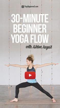 The Perfect Beginner Yoga Flow (FREE Class) Yoga vinyasa flow yoga Ashtanga Vinyasa Yoga, Yoga Positionen, Iyengar Yoga, Hot Yoga, Kundalini Yoga, Quick Weight Loss Tips, Weight Loss Help, Weight Loss Program, How To Lose Weight Fast