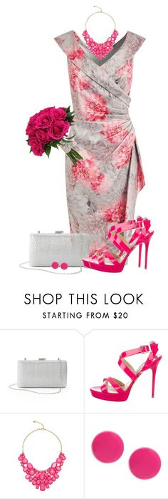 """#887"" by elda-1985 ❤ liked on Polyvore featuring Rare London, La Regale, Jimmy Choo, Eye Candy and Trina Turk"