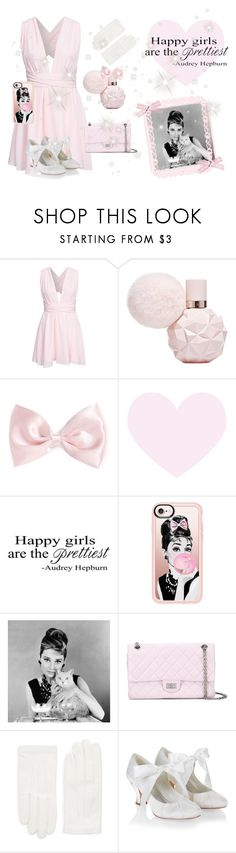 """""""happy girls are the prettiest ♡"""" by fiftiesprincess ❤ liked on Polyvore featuring beauty, NLY Trend, Forever 21, WALL, Casetify, Chanel, Valentino and Monsoon"""
