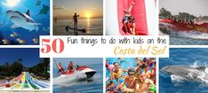 50 Fun Things to do with kids on the Costa del Sol