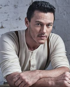 Luke Evans photographed by Gavin Bond via @onlyholly65 twitter account.  #LukeEvans #BeautyAndTheBeast