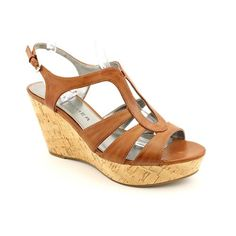 Marc Fisher Glee Open Toe Wedge Sandals Shoes « ShoeAdd.com – More Shoes For You Every Day