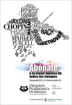Desarrollo de campaña para la Orquesta Filarmonica de Malaga