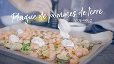 Plaque de pommes de terre vide-frigo Quebec, Celerie Rave, Vide, Fajitas, Plaque, Sheet Pan, Entrees, Potato Salad, Main Dishes
