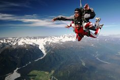 # 40 - Skydive Franz - 101 Must-Do's for Kiwis. View the full list at www.aatravel.co.nz/101