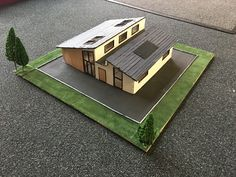 Student House, Scale Models, Wood Projects, Construction, Building, Buildings, Scale Model, Wood Working