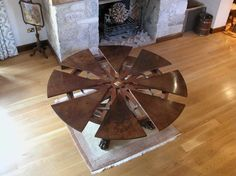 Dining Room Designs: Round Expandable Dining Table, extendable dining table,  Large round table