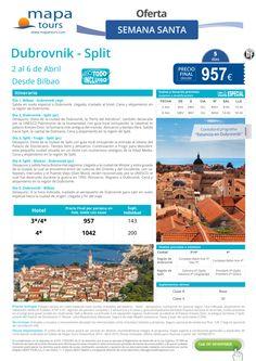 Dubrovnik-Split Semana Santa salida Bilbao **Precio Final desde 957** ultimo minuto - http://zocotours.com/dubrovnik-split-semana-santa-salida-bilbao-precio-final-desde-957-ultimo-minuto/