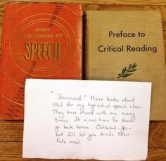 Library books returned with explanatory note after 52 years!