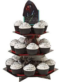 Star Wars 7 The Force Awakens Cupcake Stand 12in x 16 1/2in - Party City