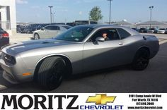 Congratulations to Robert Miller on your #Dodge #Challenger purchase from Brandon Anderson at Moritz Chevrolet! #NewCar