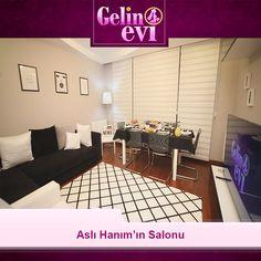 Aslı Hanım'ın salon dekorasyonu..🌟 #gelinevi #showtv