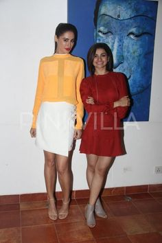 All Smiles! Nargis Fakhri and Prachi Desai Spotted at Azhar's Promotions Prachi Desai Hot, All Smiles, Bollywood Stars, Hottest Photos, Celebrity Crush, Star Fashion, Indian Actresses, Style Icons, Celebs