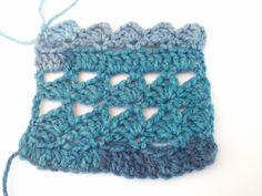 Crocheted pattern no 4