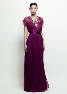 rockflower gown violet