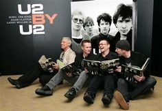 U2 - Book Signing - London September 2006