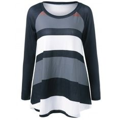 SHARE & Get it FREE | Sriped Raglan Sleeve T-ShirtFor Fashion Lovers only:80,000+ Items·FREE SHIPPING Join Dresslily: Get YOUR $50 NOW!