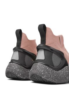So soft and buttery Athleisure, Futuristic Shoes, High Top Sneakers, Shoes Sneakers, Sports Footwear, Active Wear, La Mode Masculine, Knit Shoes, What To Wear Today