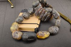 A very natural Baltic amber necklace and bracelet set. | eBay!