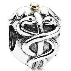 Pandora Charm - life saver  I want a bracelet with this on it once I finish nursing school
