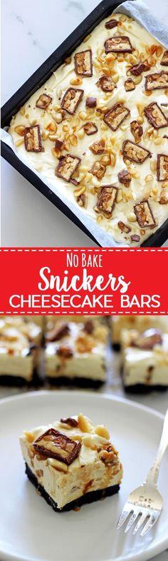 No Bake Snickers Cheesecake Bars No Bake Snickers Cheesecake. No Bake Snickers Cheesecake Bars No Bake Snickers Cheesecake. No Bake Snickers Cheesecake Bars No Bake Snickers Cheesecake. No Bake Snickers Cheesecake Bars No Bake Snickers Cheesecake. Cheesecake Aux Snickers, Easy No Bake Cheesecake, Cheesecake Desserts, Köstliche Desserts, Snickers Dessert, Holiday Desserts, Healthy Desserts, Healthy Recipes, Easy To Make Desserts