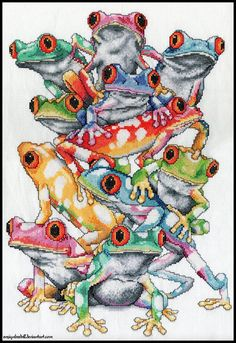 i <3 frogs - doubt I'll ever do this - but it's cute!!