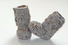 Pas cher Livraison gratuite, Belle crochet, Crochet bébé bottes, Chaussons…