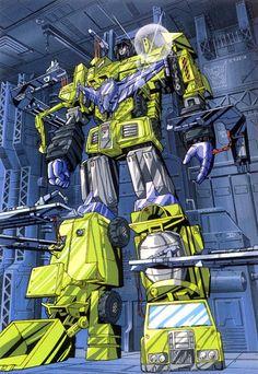 Devastator  #Transformers  #Decepticons