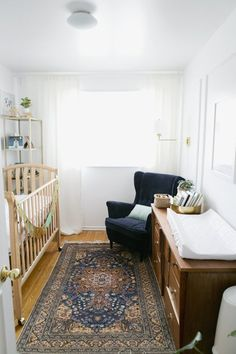 Name: Raegan Elliette (newborn) Location: Toronto, Ontario, Canada I have always loved nurseries that fit into the overall feel and look of the house - but there is definitely something special about a baby's room! With our first, we wanted it to be extra special. We tried to balance meaningful with fun, sophisticated with playful, and serene with eye-catching.