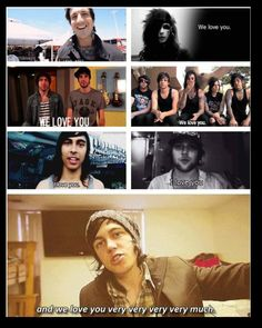 <3 Of Mice & Men Black Veil Brides All Time Low Falling In Reverse Pierce The Veil Sleeping With Sirens