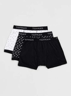 Multi Patterned Underwear Pack