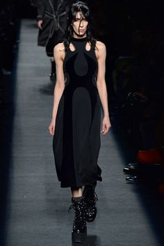 Alexander Wang's fall 2015 runway show. See the full collection on Vogue.com.