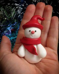 """17 Me gusta, 1 comentarios - Libera (@lilus_land) en Instagram: """"È arrivato il freddo e con lui anche un dolce pupazzo di neve #pupazzodineve #pupazzodineve⛄…"""""""