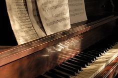 """{""""Music washes away from the soul the dust of everyday life."""" - Berthold Auerbach} Charlotte"""