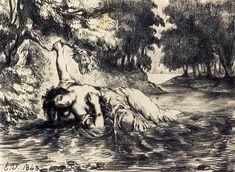 The Death of Ophelia, 1843 - Eugene Delacroix