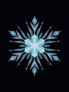 frozen snowflake elsa the art of frozen elsanna edit of elsa's snowflake in the art of frozen gorgeous right? so pretty *-*