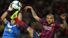 The other side of FC Barcelona v Almeria