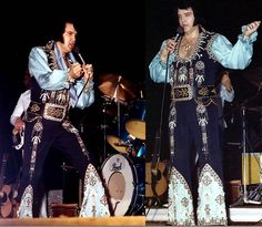 THE ORIGINAL BLACK AZTEC BELT! ELVIS wore this jumpsuit/belt combination from March to May 1976.