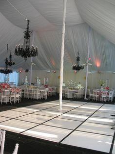 outdoor dance floor wedding reception layout | indoor / outdoor dance floors are ideal for birthday parties, wedding ...