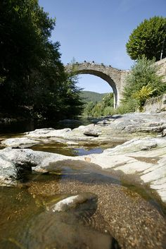 Pont Vieux de St Jean du Bruel, Midi-Pyrenees, France