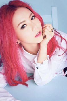 G.E.M posted by MishCheungX ~: Red & Pink Dip Dye Hair - Smart Beauty: Smart Colour Semi-Permanent Hair Dye - Neon Pink Orange Hair Dye, Pink And Orange Hair, Pink Hair, Dip Dye Hair, Dyed Hair, Pink Dip Dye, Semi Permanent Hair Dye, Beauty Regime, Hair Again