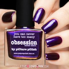 Picture Polish Obsession Nail Polish (Limited Edition Collection) | Live Love Polish