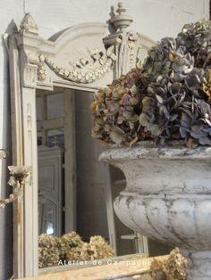 Urn with Hydrangeas