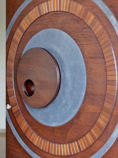Usine Studio : Architects   Interior Designer   Project Consultants - Vadodara, Gujarat. India Door Gate Design, Main Door Design, Terraced Patio Ideas, Partition Design, Wall Installation, Entrance Doors, Pent House, Land Art, Apartment Design