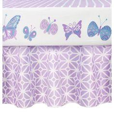 """COCALO Violet Lavender Trellis Dust Ruffle - Cocalo - Babies """"R"""" Us"""
