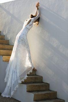 long sleeve wedding dresses boho lace low back straight grace loves lace Wedding Dress Trends, Bohemian Wedding Dresses, Sexy Wedding Dresses, Wedding Dress Sleeves, Wedding Ideas, Wedding Attire, Wedding Blog, Wedding Planning, Wedding Inspiration