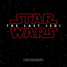 'Star Wars: Episode VIII' Has a Title and a Poster! We can finally stop calling it Episode VIII. Disney has just announced that the next installment of the Star Wars saga (in theaters on Dec. will be called Star Wars: The Last Jedi. Star Wars Film, Star Wars Watch, Star Wars Poster, Star Wars Art, Luke Skywalker, Streaming Movies, Hd Movies, Movies Online, 2017 Movies