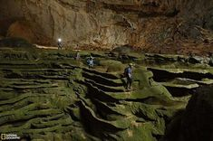 Son Doong Cave, Vietnam. This is perhaps the largest known cave in the world, and is home to the endless wonders we are still discovering today. It is so big, it has its own ecosystem and geological formations.