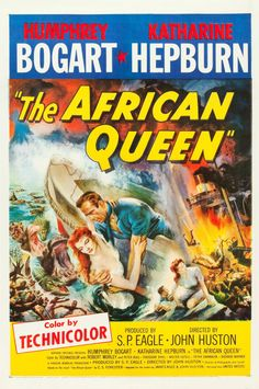 """Movie Posters:Adventure, The African Queen (United Artists, 1952). One Sheet (27"""" X 41"""")..... Image #1"""
