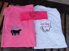 Show Steer Butt Shirts Can Customize by ShowNStitch on Etsy